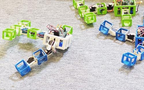 首个机器人婴儿 机器人 人工智能 3D打印